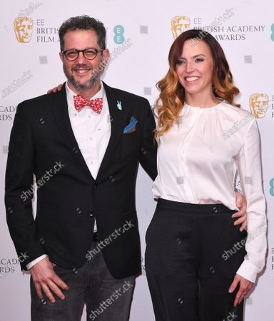 Stock Photo of Michael Giacchino and guest