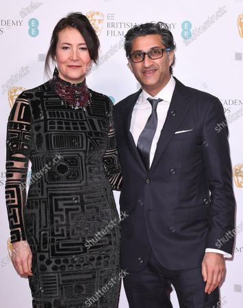 Stock Picture of Victoria Harwood and Asif Kapadia