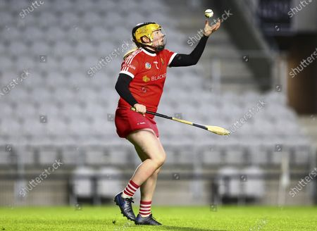 Stock Photo of Cork vs Waterford. Cork's Amy Lee in action