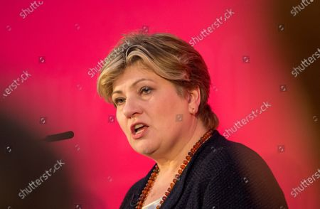Emily Thornberry at the Labour Party Leadership Hustings, at Ashton Gate Stadium.
