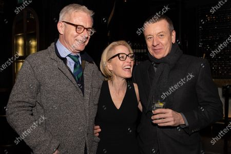 Stephen Daldry, Gillian Anderson & Peter Morgan