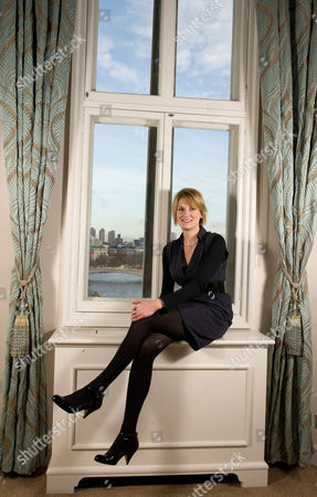 Editorial image of Sally Bercow, wife of Conservative Speaker of the House of Commons John Bercow, London, Britain - 02 Dec 2009