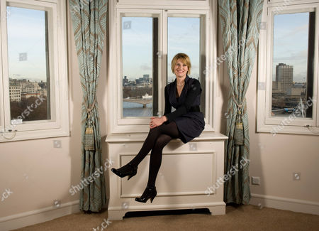 Editorial picture of Sally Bercow, wife of Conservative Speaker of the House of Commons John Bercow, London, Britain - 02 Dec 2009