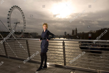 Editorial photo of Sally Bercow, wife of Conservative Speaker of the House of Commons John Bercow, London, Britain - 02 Dec 2009