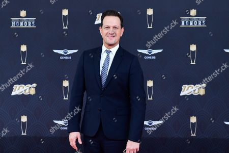 Josh Charles arrives at the 9th Annual NFL Honors at the Adrienne Arsht Center in Miami on