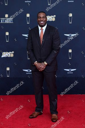 Antonio Gates arrives at the 9th Annual NFL Honors at the Adrienne Arsht Center in Miami on
