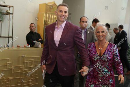 Kurt Warner, Brenda Warner. Kurt Warner, left, and Brenda Warner attend the 9th Annual NFL Honors at the Adrienne Arsht Center, in Miami