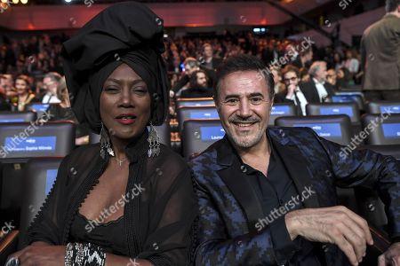 Stock Picture of Khadja Nin and Jose Garcia