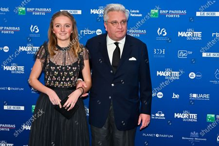 Stock Photo of Prince Laurent and Princess Louise