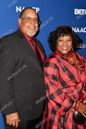 Stock Picture of Glenn Marshall and Loretta Devine attend the 51st NAACP Image Awards Nominees Luncheon at the W Hollywood on Saturday February 1, 2020 in Hollywood, CA