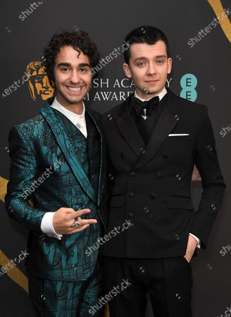 Stock Image of Alex Wolff and Asa Butterfield