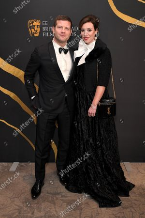 Stock Picture of Dermot O'Leary and Dee Koppang