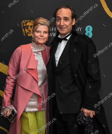 Stock Picture of Dominique Lemonnier and Alexandre Desplat