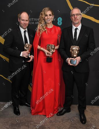 Oliver Tarney, Rachael Tate and Mark Taylor