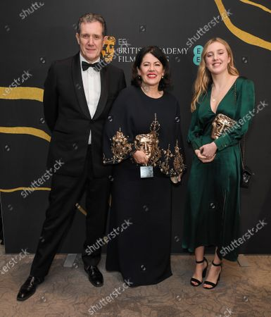 Stock Photo of Pippa Harris and guests