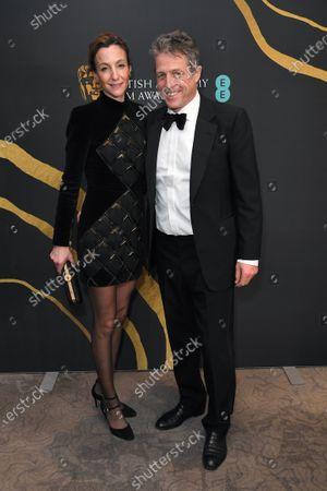 Stock Photo of Anna Elisabet Eberstein and Hugh Grant
