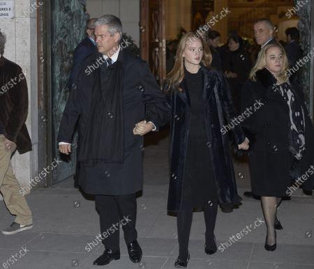 Editorial photo of Pilar de Borbon funeral mass, Madrid, Spain - 01 Feb 2020