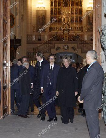 Editorial picture of Pilar de Borbon funeral mass, Madrid, Spain - 01 Feb 2020