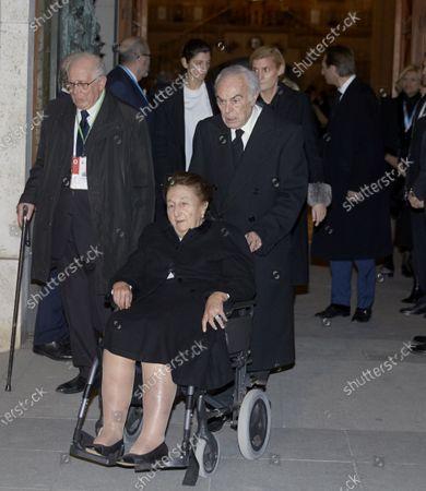 Princess Margarita Borbon and Duke of Soria