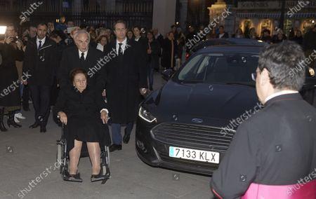 Stock Image of Princess Margarita Borbon and Carlao Zurita