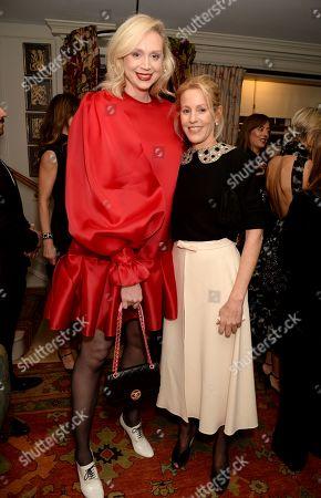 Gwendoline Christie and Guest
