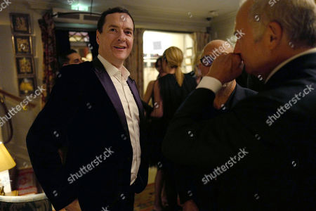 Stock Image of George Osborne