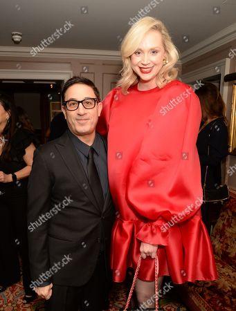 Guest and Gwendoline Christie