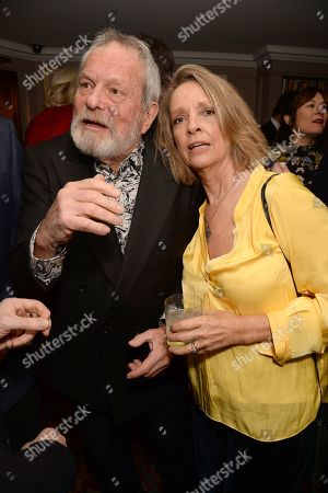 Stock Photo of Terry Gilliam and Sabrina Guinness
