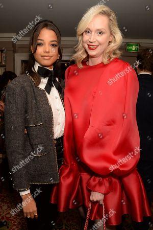 Ella Balinska and Gwendoline Christie