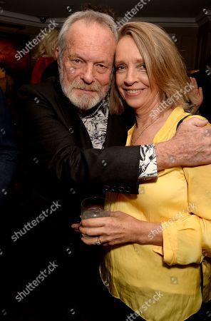Terry Gilliam and Sabrina Guinness