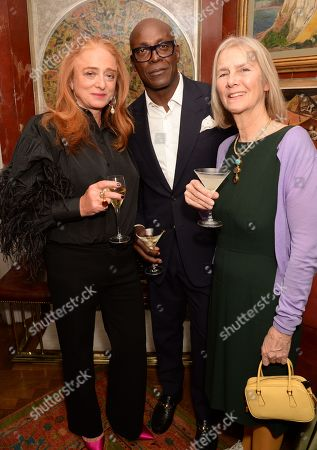 Stock Picture of Camilla Lowther, Charles Aboah and Guest