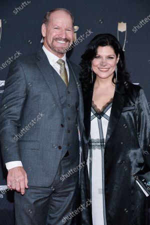 Bill Cowher and Veronica Stigeler