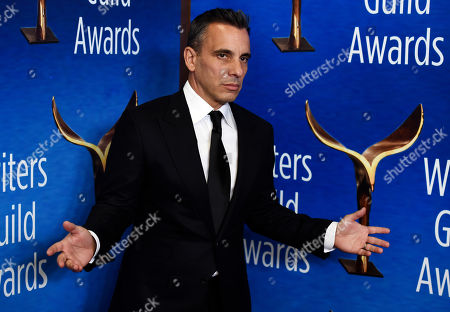 Sebasian Maniscalco. Actor Sebastian Maniscalco poses at the 2020 Writers Guild Awards at the Beverly Hilton, in Beverly Hills, Calif