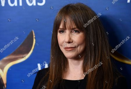Laraine Newman poses at the 2020 Writers Guild Awards at the Beverly Hilton, in Beverly Hills, Calif