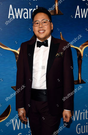 Nico Santos poses at the 2020 Writers Guild Awards at the Beverly Hilton, in Beverly Hills, Calif
