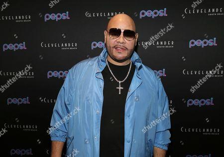 Fat Joe attends the Pepsi Super Splash Pool Party at Pepsi Neon Beach, in South Beach, FL