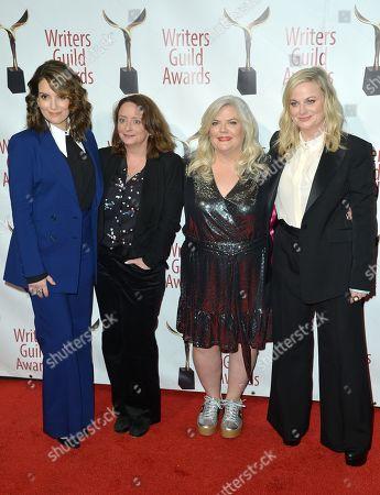 Tina Fey, Rachel Dratch, Paula Pell and Amy Poehler