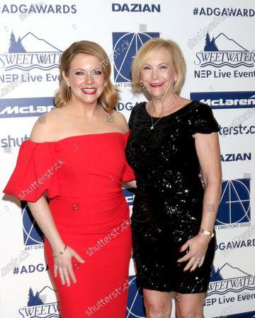 Melissa Joan Hart and Paula Hart