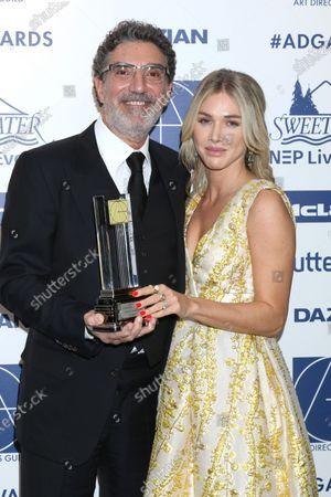Editorial image of Art Directors Guild Awards, Press Room, Los Angeles, USA - 01 Feb 2020
