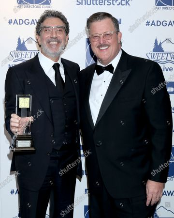 Chuck Lorre and Billy Gardell