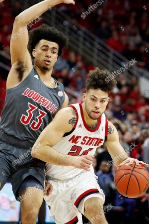 Editorial photo of Louisville NC State Basketball, Raleigh, USA - 01 Feb 2020