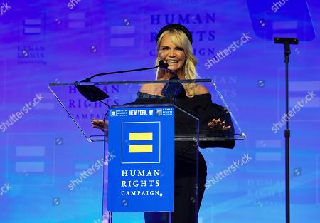Award-winning actress and singer Kristin Chenoweth appears at the 19th Annual Human Rights Campaign Greater New York Gala on in New York