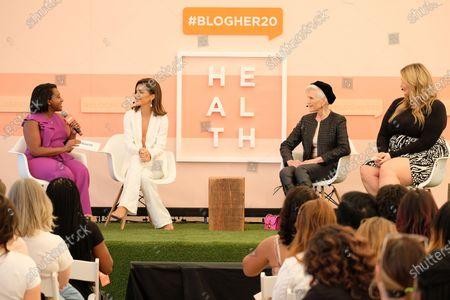 Angelique Jackson, Camila Coelho, Maye Musk and Hunter McGrady