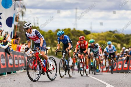 Juan Pedro Lopez (ESP) of Trek-Segafredo rides up Challambra Crescent during the 2020 Cadel Evans Great Ocean Road Race