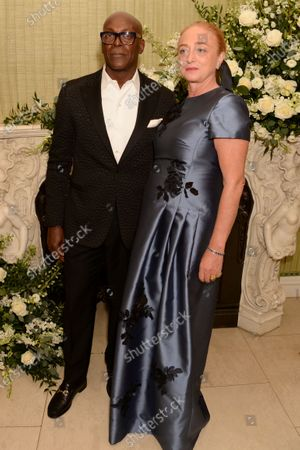 Stock Picture of Charles Aboah and Camilla Lowther