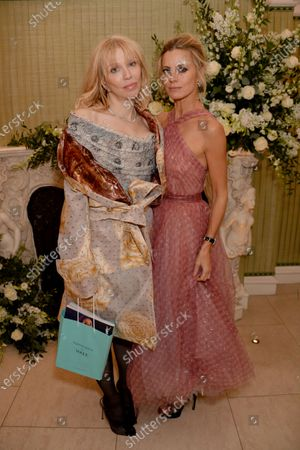 Courtney Love and Laura Bailey