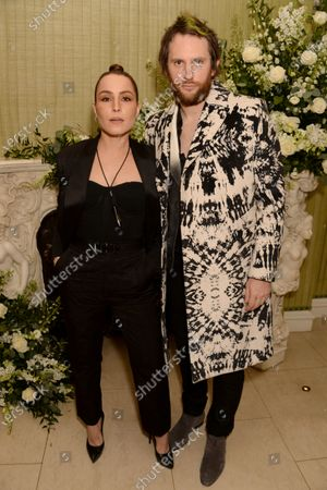 Noomi Rapace and Marc Jacques-Burton