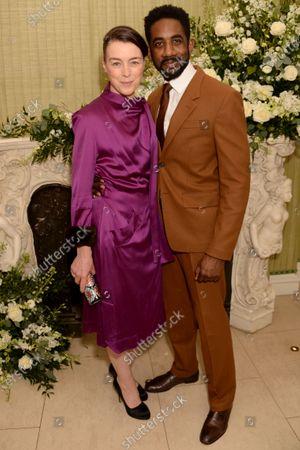 Stock Image of Olivia Williams and Rhashan Stone