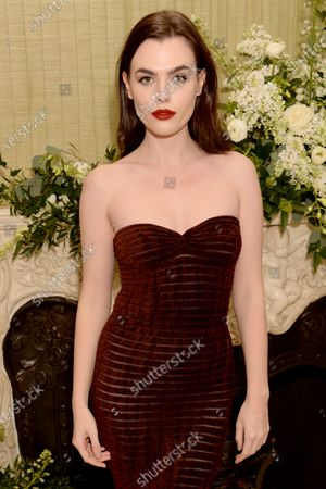 Editorial picture of BAFTA Vogue x Tiffany Fashion and Film afterparty, Annabel's, London, UK - 02 Feb 2020