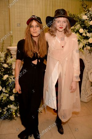 Charlotte Colbert and Lily Cole